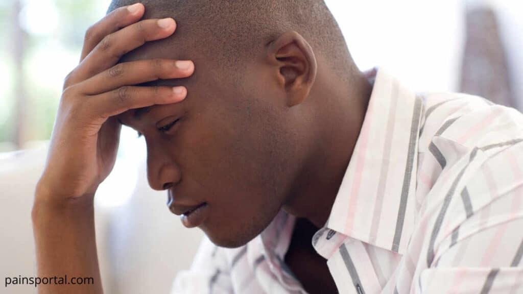 Headache in Forehead
